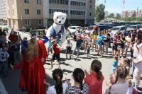 Детский праздник в честь дня защиты детей.
